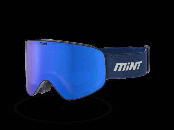 Mint-Sports Smoke Blue Ski Glasses