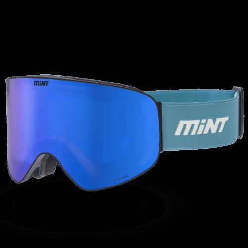 Mint-Sports Smoke Cyan Ski Glasses