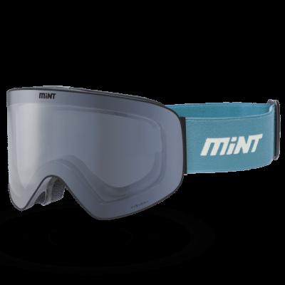 Mint-Sports Chroma Cyan Ski Glasses