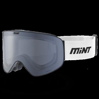 Mint-Sports Chroma White Ski Glasses