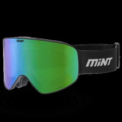 Mint-Sports Smoke Black Ski Glasses