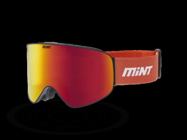 Mint-Sports Smoke Orange Ski Glasses