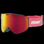 Mint-Sports Smoke Pink Ski Glasses